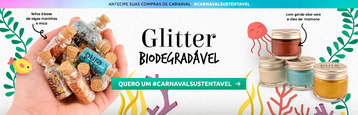 Glitter Biodegradável