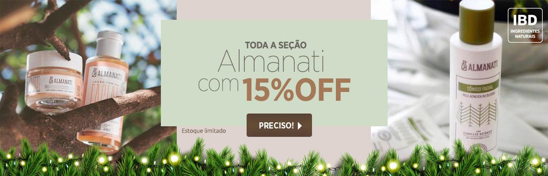 Almanati com 15%OFF