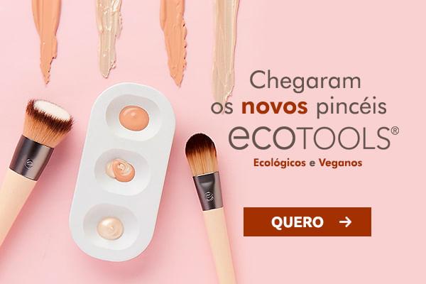 Chegaram os novos pincéis veganos e ecológicos da Ecotools na Use Orgânico
