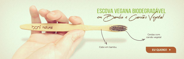 Escova Vegana Boni Natural