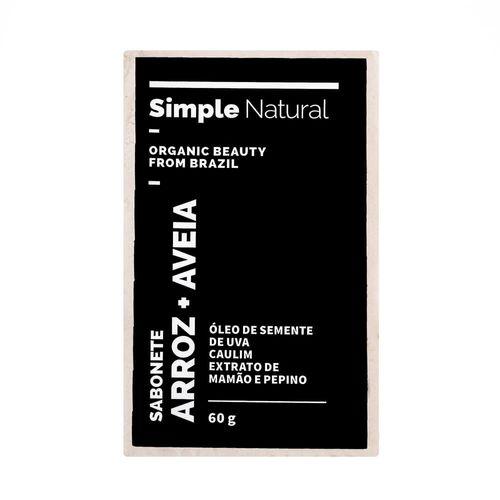 Sabonete-Facial-Natural-Arroz-e-Aveia-60g---Simple-Organic-