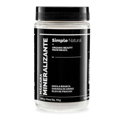Mascara-Facial-Natural-Mineralizante-100g---Simple-Organic