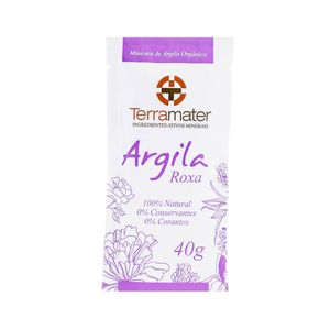 Máscara de Argila Roxa Orgânica 40g – Terramater