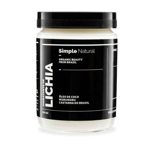 Hidratante-Corporal-Natural-Lichia-150ml-–-Simple-Organic