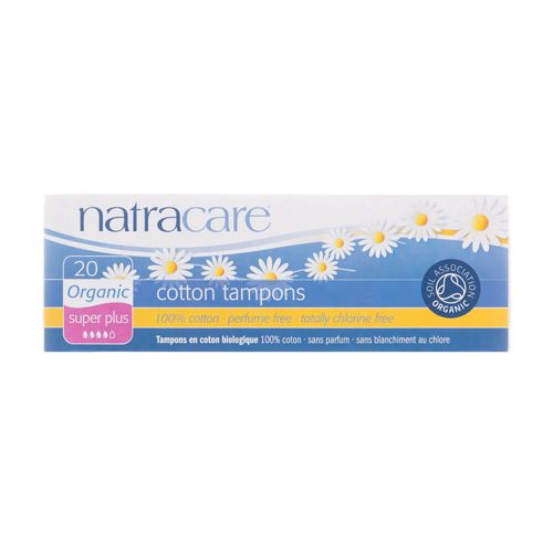 Absorvente-Interno-Organico-Cotton-Tampons-Super-Plus-com-20-Unidades---Natracare-