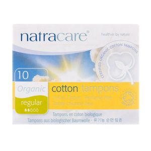 Absorvente-Interno-Organico-Cotton-Tampons-Regular-com-10-Unidades---Natracare-