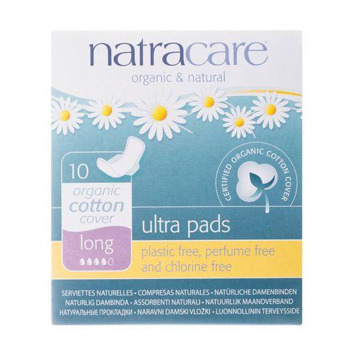 Absorvente-Organico-Ultra-Pads-Long-com-Abas-10-Unidades-–-Natracare