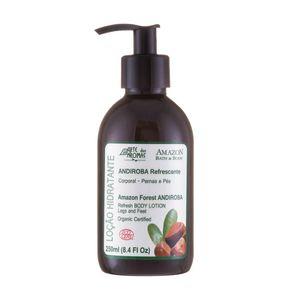 Locao-Hidratante-Organica-Para-Pernas-e-Pes-Andiroba-250ml---Arte-dos-Aromas
