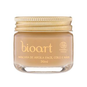 Mascara-Facial-Organica-Iluminadora-Bionutritiva-de-Argila-Dourada-e-Castanha-do-Para-30ml-–-Bioart