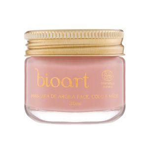 Mascara-Facial-Natural-Regeneradora-Bionutritiva-de-Argila-Rosa-Castanha-e-Rosa-Mosqueta-30ml-–-Bioart