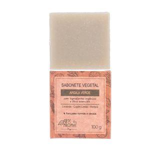 Sabonete-Vegetal-Natural-de-Argila-Verde-100g---Arte-dos-Aromas