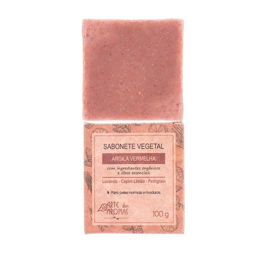 Sabonete-Vegetal-Natural-de-Argila-Vermelha-100g---Arte-dos-Aromas