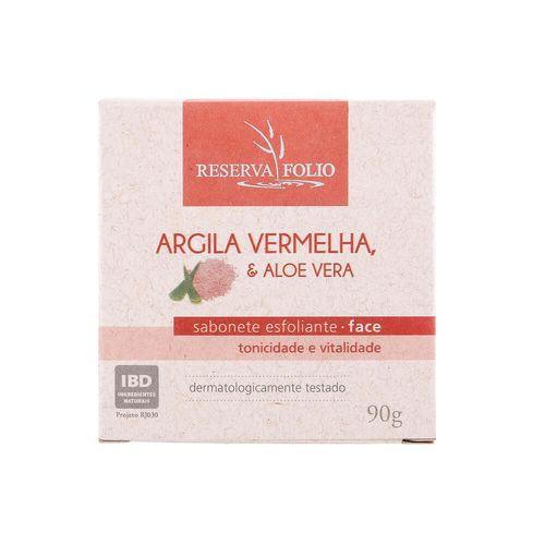 Sabonete-Esfoliante-Facial-Natural-de-Argila-Vermelha-e-Aloe-Vera-90g-–-Reserva-Folio