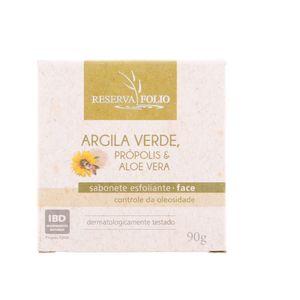 Sabonete-Esfoliante-Facial-Natural-de-Argila-Verde-Propolis-e-Aloe-Vera-90g-–-Reserva-Folio