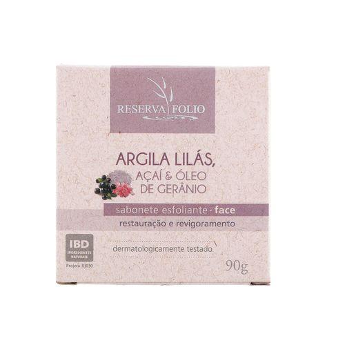 Sabonete-Esfoliante-Facial-Natural-de-Argila-Lilas-Acai-e-Oleo-de-Geranio-90g-–-Reserva-Folio