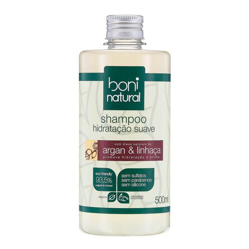 Shampoo-Natural-Hidratacao-Suave-Argan-e-Linhaca-500ml-–-Boni-Natural