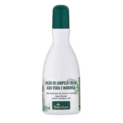 Locao-de-Limpeza-Facial-Natural-Aloe-Vera-e-Moringa-210ml-–-Livealoe