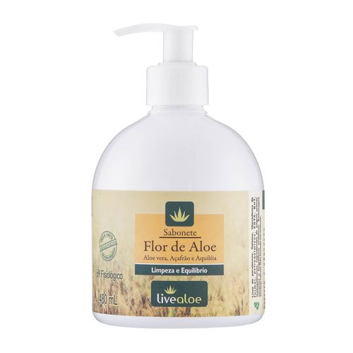 Sabonete-Natural-Flor-de-Aloe-480ml-–-Livealoe