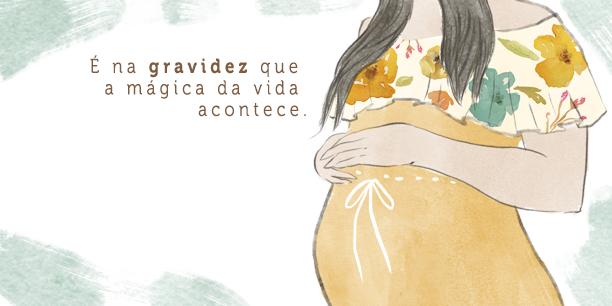 Produtos para grávidez Orgânicos, veganos e naturais