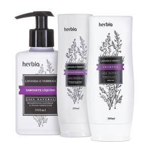 Kit-Natural-de-Banho-de-Lavanda-e-Verbena---Herbia