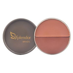 Duo Blush Natural Compacto Splendor Orangespice 10g - Glory By Nature