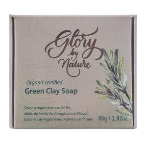 Sabonete-Facial-em-Barra-Organico-Argila-Verde-80g-–-Glory-By-Nature