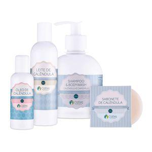 Kit-Natural-para-Pele-Sensivel-de-Calendula-–-Cativa-Natureza