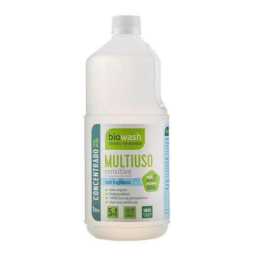 Multiuso-Concentrado-Natural-Sensitive-Sem-Fragrancia-1L---BioWash