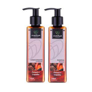 Kit-Natural-Shampoo-e-Condicionador-Pataua-e-Copaiba-para-Cabelos-Danificados-–-Viventium