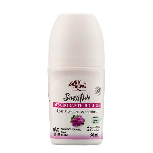 Desodorante-Roll-On-Sensitive-Rosa-Mosqueta---Geranio-50ml-–-Arte-dos-Aromas