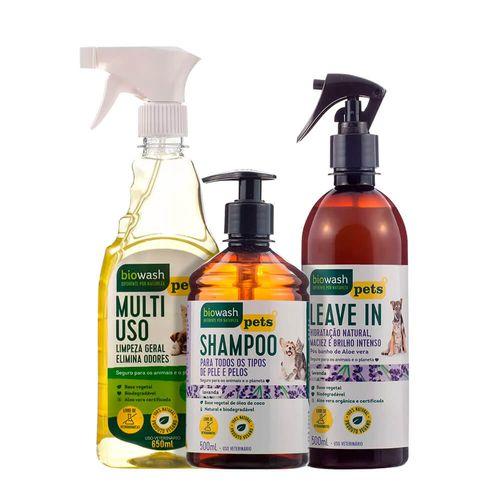 Kit-PET-Natural-com-Capim-Limao---BioWash