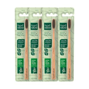 Kit-4-Escovas-Dentais-Naturais-de-Bambu-com-Cerdas-de-Carvao-Vegetal-–-Boni-Natural