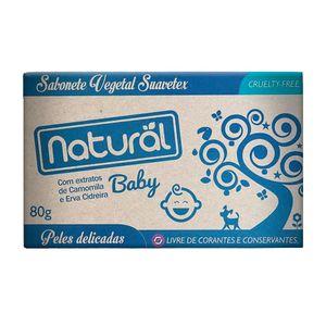 Sabonete-Natural-Suavetex-Baby-com-Extratos-de-Camomila-e-Erva-Cidreira-80g-–-Organico-Natural
