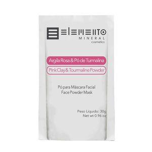 Argila-Rosa-com-Po-de-Turmalina-30g---Elemento-Mineral