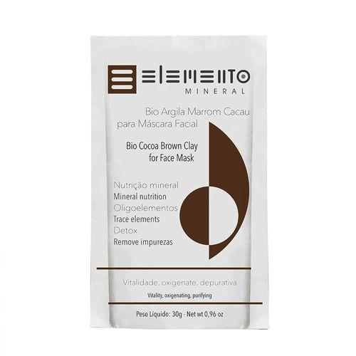 Bio-Argila-Marrom-Cacau-30g---Elemento-Mineral