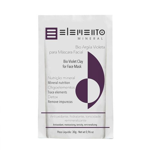 Bio-Argila-Violeta-30g---Elemento-Mineral