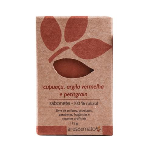 Sabonete-Natural-de-Cupuacu-Argila-Vermelha-e-Petitgrain-115g---Ares-de-Mato
