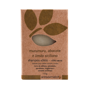 Shampoo-Solido-Natural-de-Murumuru-Abacate-e-Limao-Siciliano-115g---Ares-de-Mato
