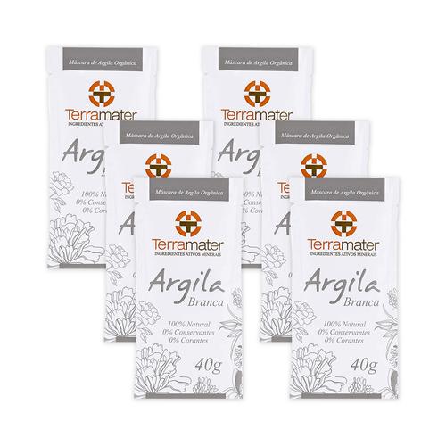 Kit-6-Mascara-de-Argila-Branca-Organica-40g-–-Terramater