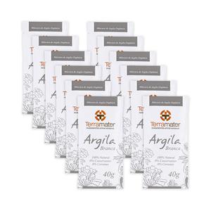 Kit-12-Mascara-de-Argila-Branca-Organica-40g-–-Terramater