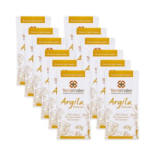 Kit-12-Mascaras-de-Argila-Dourada-Organica-40g-–-Terramater