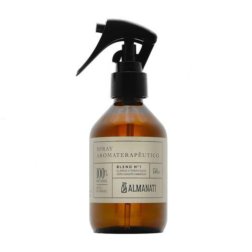 Spray-Natural-para-Ambiente-e-Aromaterapeutico-Clareza-e-Purificacao-Blend-N°1-de-150ml---Almanati