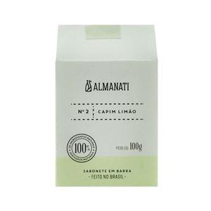Sabonete Natural de Capim Limão 100g - Almanati