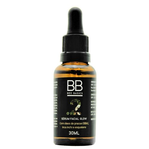 Serum-Facial-Glow-Natural-com-Esqualano-Bee-Basics