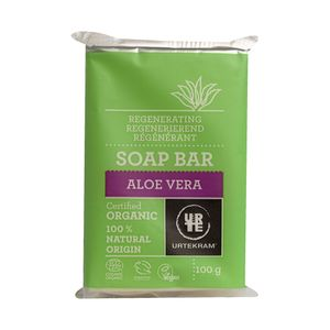 Sabonete-Organico-de-Aloe-Vera-Regeneracao-para-Peles-Normais-100g---Urtekram