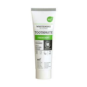 Pasta-Dental-Vegana-e-Organica-Clareador-dos-Dentes-Fresh-Mint-75ml---Urtekram