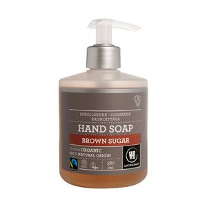 Sabonete-Liquido-de-Acucar-Mascavo-Organico-Calmante-e-Anti-inflamatorio-380ml-Urtekram