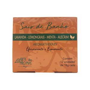 Sais-de-Banho-Efervescentes-Natural-Aromatherapy-Lemongrass-com-12-unidades---Arte-dos-Aromas
