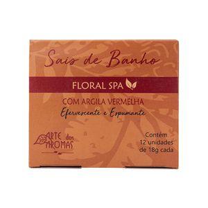 Sais-de-Banho-Natural-Floral-Spa-Efervescente-e-Espumante-com-12-Unidades-Arte-dos-Aromas