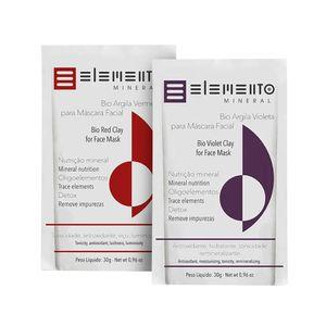 Kit-de-Argilas-Vermelha-e-Violeta-para-Peles-Secas-e-Maduras---Elemento-Mineral